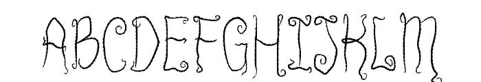 Innsmouth Plain Font UPPERCASE