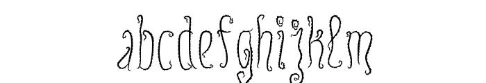Innsmouth Plain Font LOWERCASE