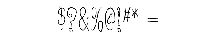 InnsmouthPlain Font OTHER CHARS