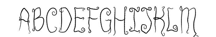 InnsmouthPlain Font UPPERCASE