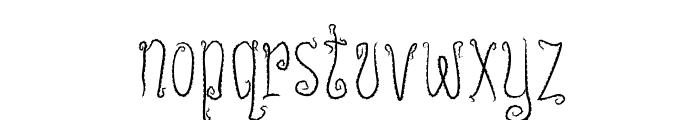 InnsmouthPlain Font LOWERCASE