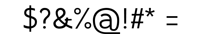 Inprimis Free Font OTHER CHARS