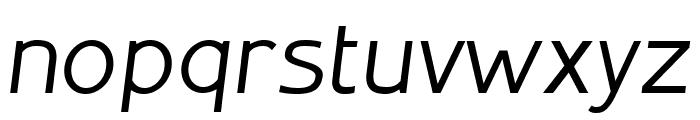 Inprimis free Italic Font LOWERCASE