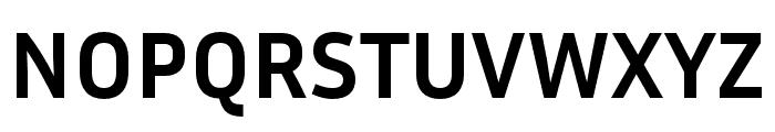 Inria Sans Bold Font UPPERCASE