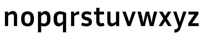 Inria Sans Bold Font LOWERCASE