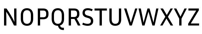 Inria Sans Font UPPERCASE
