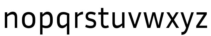 Inria Sans Font LOWERCASE