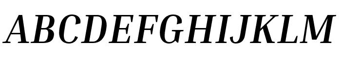 Inria Serif Bold Italic Font UPPERCASE