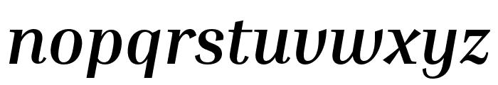 Inria Serif Bold Italic Font LOWERCASE
