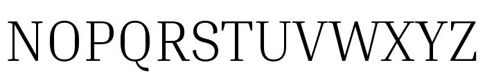 Inria Serif Light Font UPPERCASE
