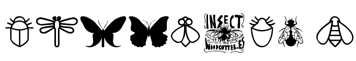 Insect Icons Font OTHER CHARS
