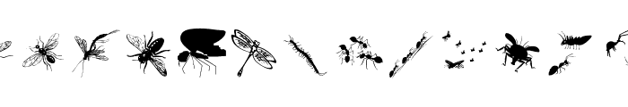 InsectsTwo Font UPPERCASE