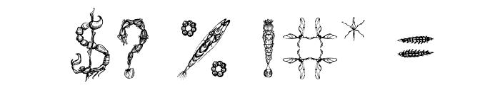 Insektofobiya Font OTHER CHARS