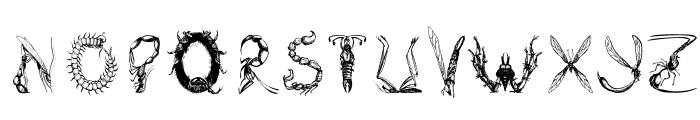 Insektofobiya Font UPPERCASE
