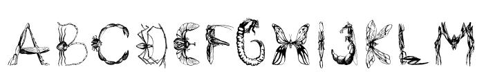 Insektofobiya Font LOWERCASE