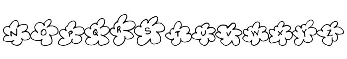 InsideFlower Font UPPERCASE