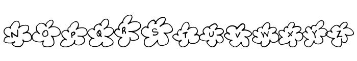 InsideFlower Font LOWERCASE