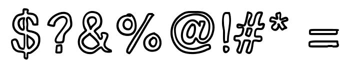InsideOutside Font OTHER CHARS