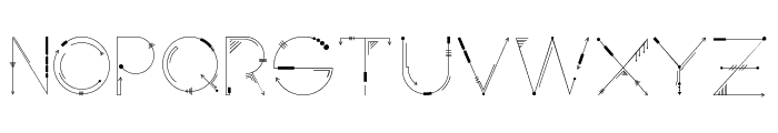Inspira Font LOWERCASE