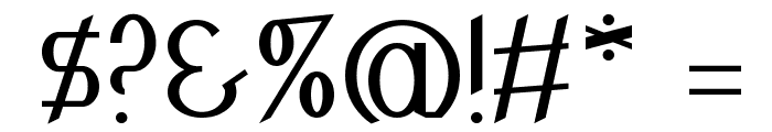 Inspyratta Font OTHER CHARS