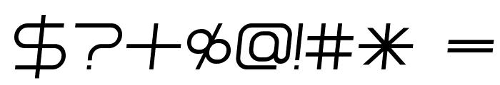 Installer Regular Italic Font OTHER CHARS