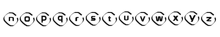 Instanovelist Regular Font LOWERCASE