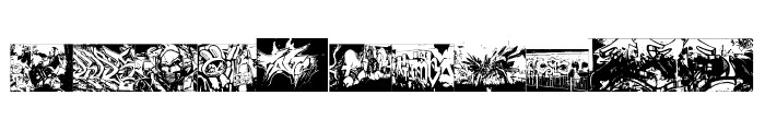 Instant Graffitication Font OTHER CHARS