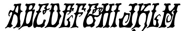 Instant Zen Bold Italic Font UPPERCASE