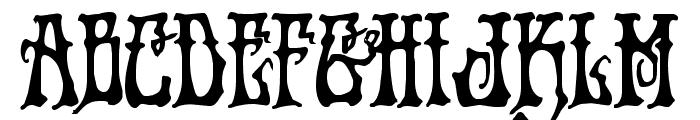 Instant Zen Bold Font UPPERCASE