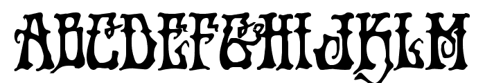 Instant Zen Bold Font LOWERCASE