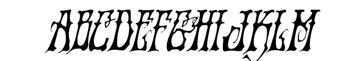 Instant Zen Condensed Italic Font LOWERCASE
