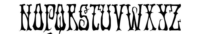 Instant Zen Condensed Font UPPERCASE