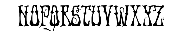 Instant Zen Condensed Font LOWERCASE