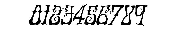 Instant Zen Drop Italic Font OTHER CHARS