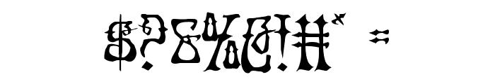 Instant Zen Drop Font OTHER CHARS