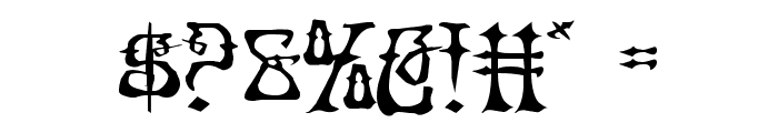 Instant Zen Expanded Font OTHER CHARS