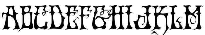 Instant Zen Expanded Font UPPERCASE