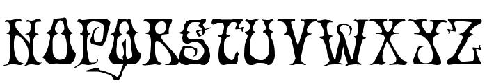 Instant Zen Expanded Font LOWERCASE