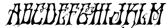 Instant Zen Italic Font UPPERCASE