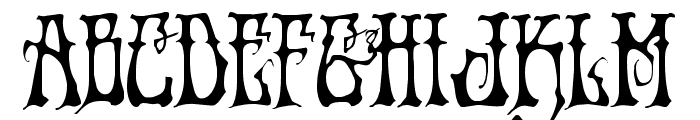Instant Zen Regular Font UPPERCASE
