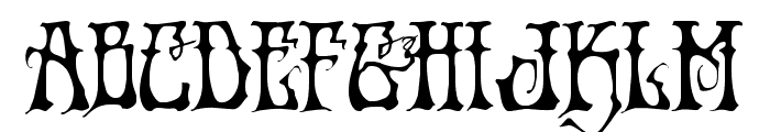Instant Zen Regular Font LOWERCASE