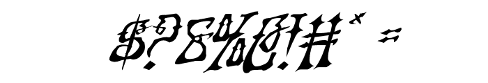 Instant Zen Rotalic Font OTHER CHARS
