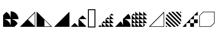 Instantdecor Regular Font UPPERCASE