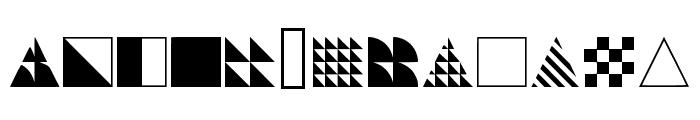 Instantdecor Regular Font LOWERCASE