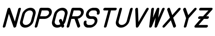 Instruction Italic Font UPPERCASE