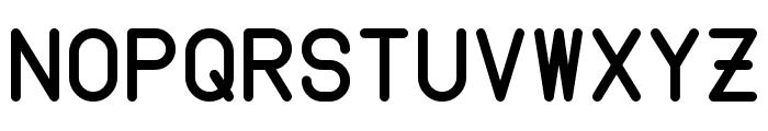 Instruction Font UPPERCASE