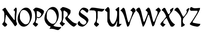 Insula Font UPPERCASE