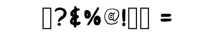 Insular Fraktur Regular Font OTHER CHARS