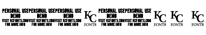 Intaglio DEMO Font OTHER CHARS