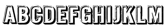 Intaglio DEMO Font UPPERCASE